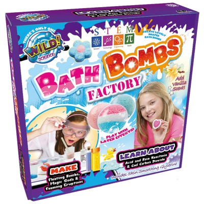 WILD SCIENCE - BATH BOMB FACTORY NOVO