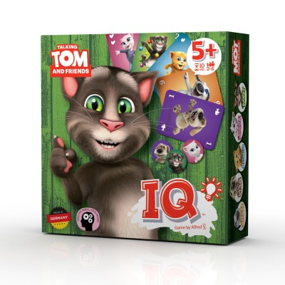 Talking Tom and Friends društvena igra IQ