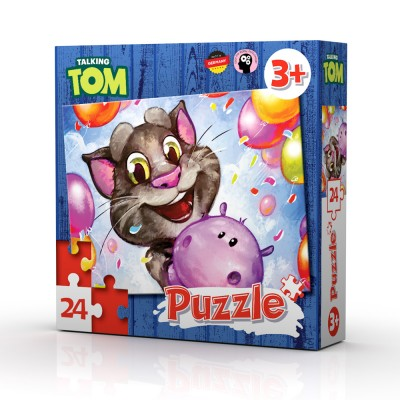 TALKING TOM AND FRIENDS PUZZLE 24 kom