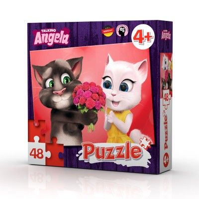 TALKING TOM AND FRIENDS PUZZLE 48 kom