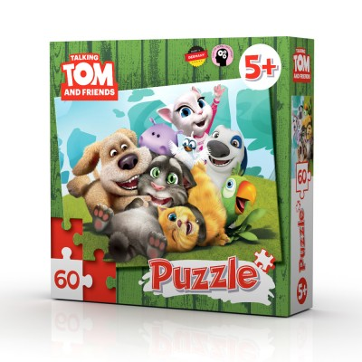 TALKING TOM AND FRIENDS PUZZLE 60 kom