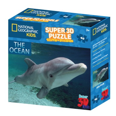 PUZZLE 3D - NAT. GEOGRAPHIC KIDS - DUPIN 48 KOM