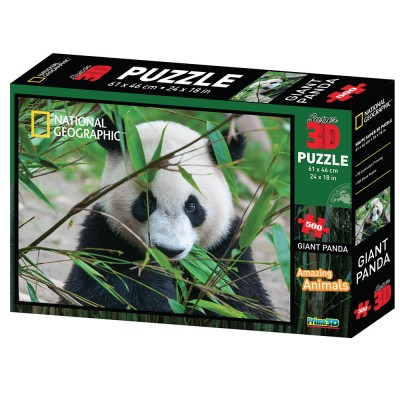 PUZZLE 3D - VELIKA PANDA 500 KOM 61x46cm DISCOVERY