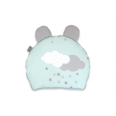 Vzglavnik Sweet Pillow Minty Puffs tiny star